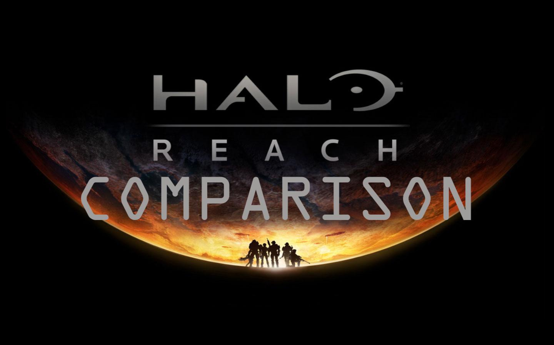 Halo Reach Xbox 360 And Xbox One X Comparison Xboxera